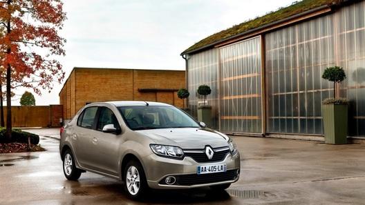 Перелицованный Renault Logan представлен как Renault Symbol