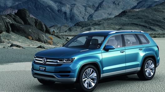 Volkswagen CrossBlue увидит свет во второй половине 2015 года