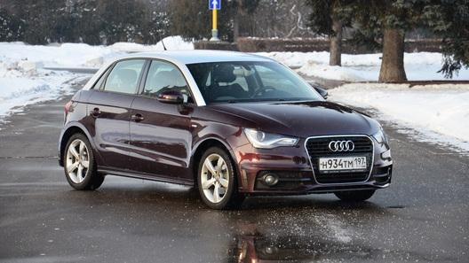 Audi A1: часть 1 (1 954 км)