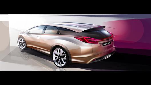 Honda представит в Женеве концепт универсала Civic и новое поколение NSX
