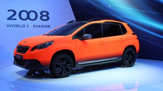 Peugeot 2008 впервые предстал перед публикой в Женеве