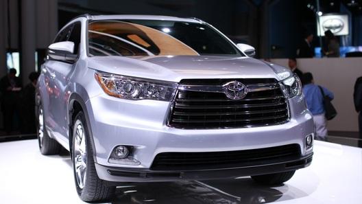 Новый Toyota Highlander представлен в Нью-Йорке