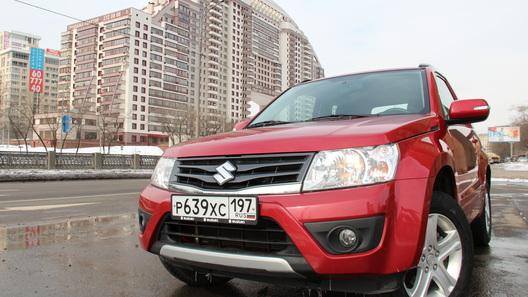 Suzuki Grand Vitara: часть 1 (2 024 км)