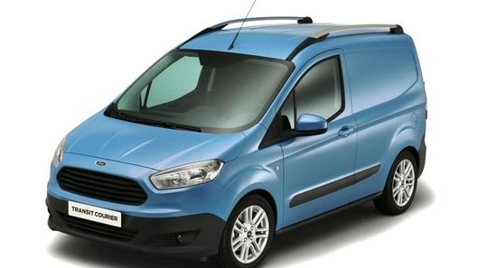 Новый фургон Ford Transit Courier показали в Бирмингеме