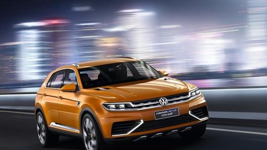 Гибридное купе VW CrossBlue набирает
