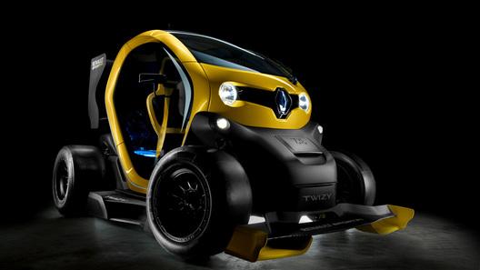 Renault превратил городской электрокар в болид
