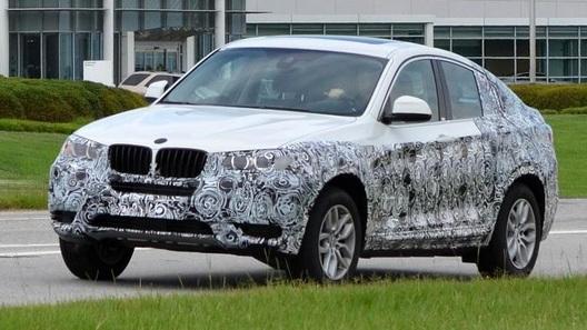 Серийный BMW X4 покажут во Франкфурте