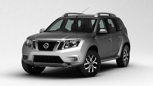 Nissan официально представил кроссовер Terrano