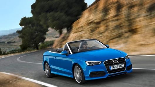 Семейство Audi A3 пополнилось кабриолетом