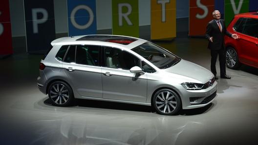 Volkswagen показал наследника Golf Plus