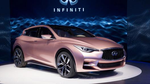Самый маленький Infiniti быстрее встанет на конвейер благодаря Mercedes-Benz