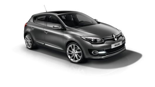 Обновленный Renault Megane появится в России в апреле