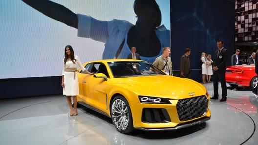 Audi похвасталась 700-сильным концептом