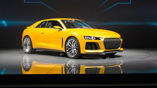 По пути на конвейер мощность мотора новой Audi упала вдвое