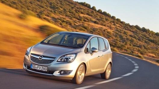 Opel обновил компактвэн Meriva