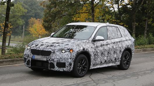 BMW X1 готовится к смене поколения и типа привода