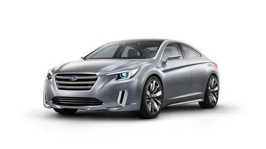 Subaru показал прототип будущего Legacy