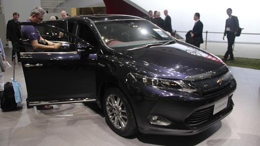 Toyota в Токио намекнула на новый Lexus RX