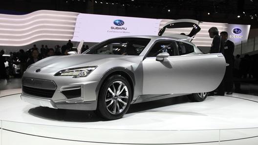 Subaru решил превратить купе BRZ в кроссовер