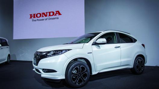 Кроссовер Honda Vezel доедет до Европы только в 2015 году