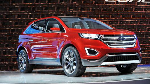 Новый Ford Edge будет сам парковаться и объезжать преграды