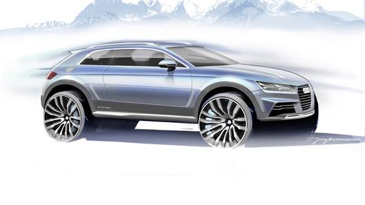 Audi везет в Детройт новое