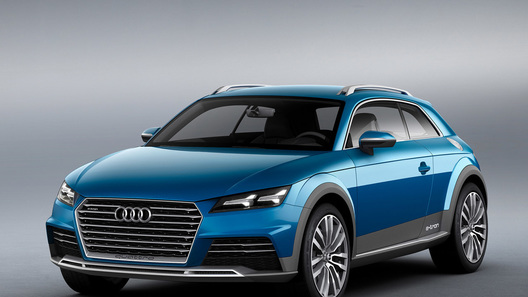 Audi везет в Америку очередное внедорожное купе