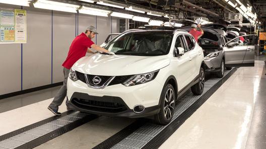Nissan начал серийное производство нового поколения Qashqai