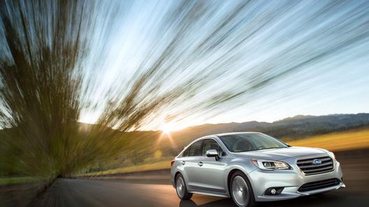 В Чикаго представили новую Subaru Legacy