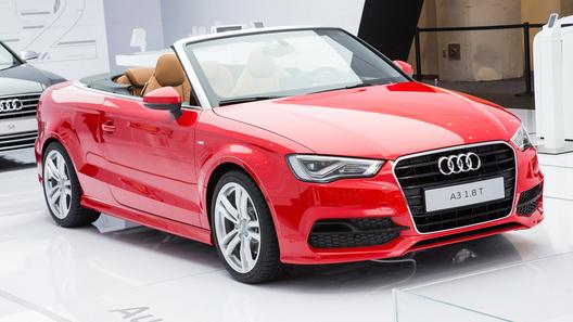 Кабриолет Audi A3 обойдется в 1,3 млн рублей