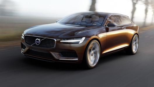 Volvo рассекретил концептуальный универсал для Женевы