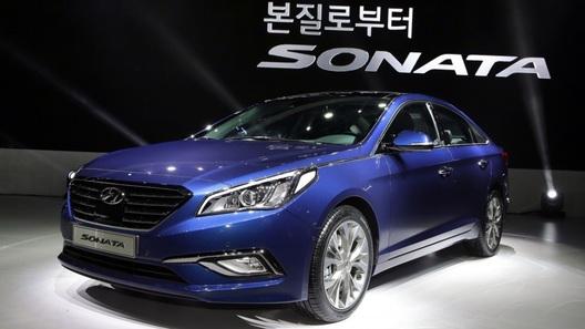 В Корее представлена новая Hyundai Sonata