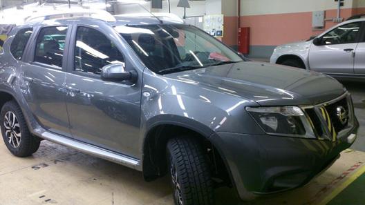 Появились новые фото Nissan Terrano для России