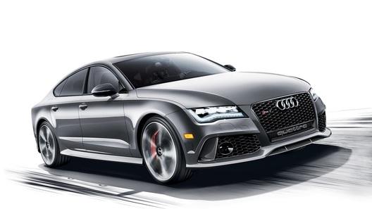 Audi покажет в Нью-Йорке RS7, оцененный дороже, чем Audi R8