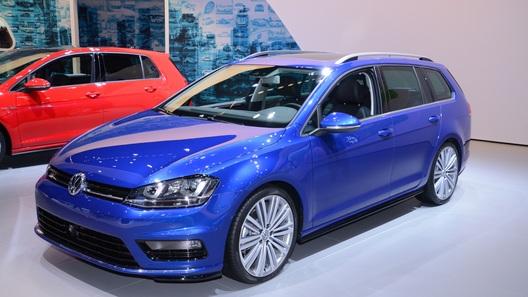 Volkswagen показал в Нью-Йорке очередной универсал Golf