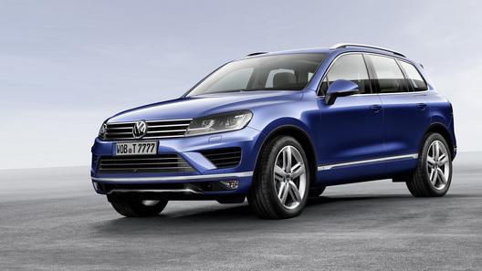 Цены на обновленный Volkswagen Touareg начинаются с 2 192 000 рублей