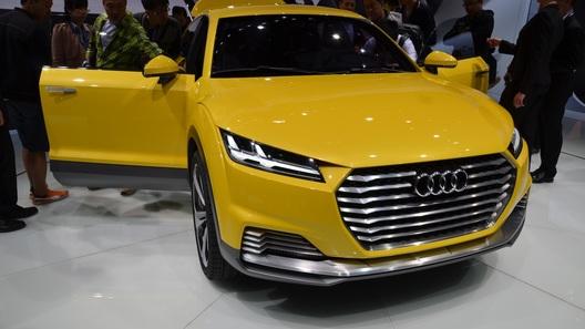 Audi покажет россиянам концепт кроссовера на базе TT