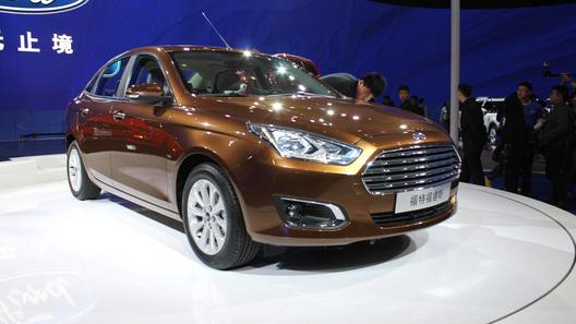Мировая премьера седана Ford Escort и внедорожника Everest состоялась в Пекине