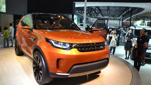 Концептуальный Land Rover Discovery доехал до Пекина и Нью-Йорка