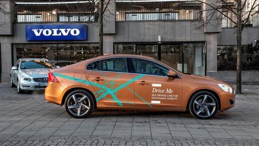Volvo выпустила на дороги Швеции сотню