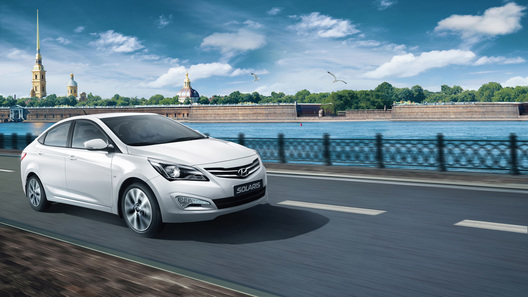 Обновленный Hyundai Solaris будет стоить от 464 тысяч рублей
