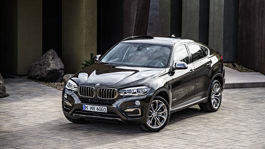 BMW представил новое поколение кроссовера X6