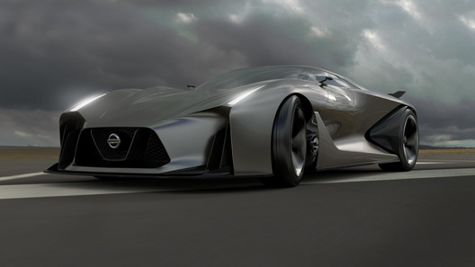Новый суперкар Nissan нарисуют без оглядки на геймеров