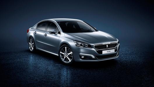 Peugeot решил кардинально сменить имидж седана 508