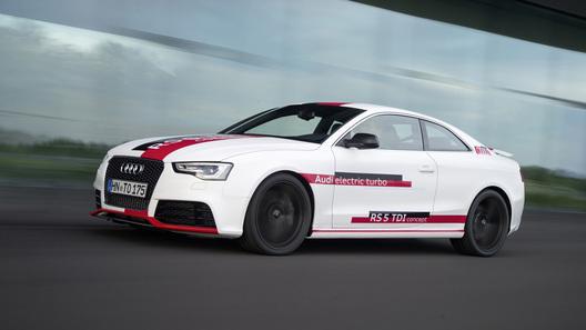 Дизельный Audi RS 5 с электротурбиной оказался медленнее, чем рассчитывали