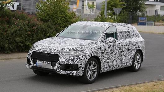 Audi Q7 нового поколения станет гибридом