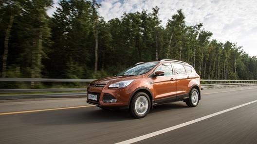 Тест-драйв Ford Kuga: против течения дороже будет!