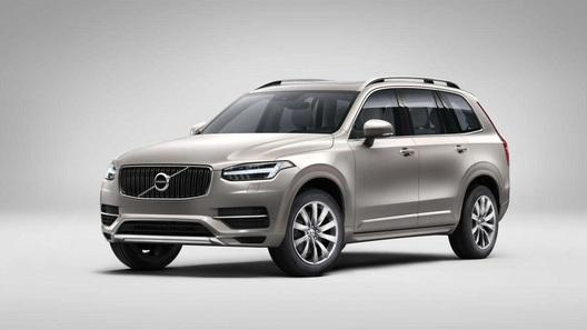 Появились первые изображения нового поколения Volvo XC90