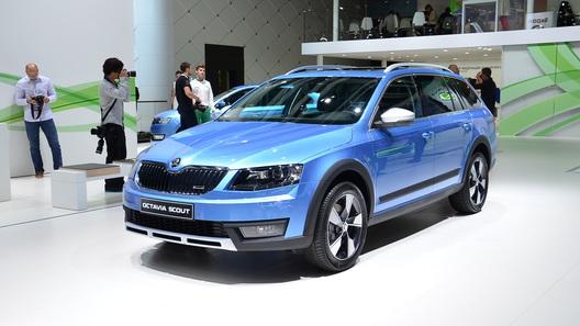 Новая Skoda Octavia Scout обойдется в 1,2 млн рублей