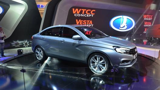 Lada Vesta будет одной из самых крупных моделей С-класса